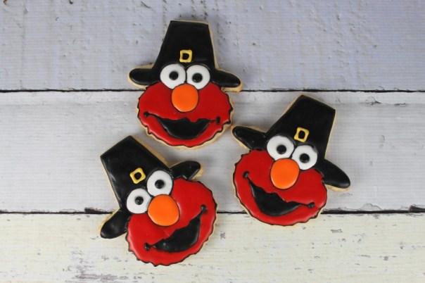 Pilgrim Elmo Cookies