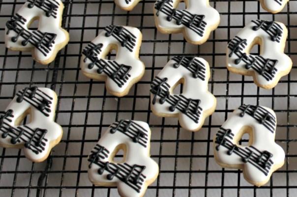 Musical Number 4 Birthday Cookies