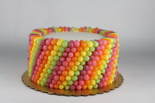 Mike and Ike Candy Cake