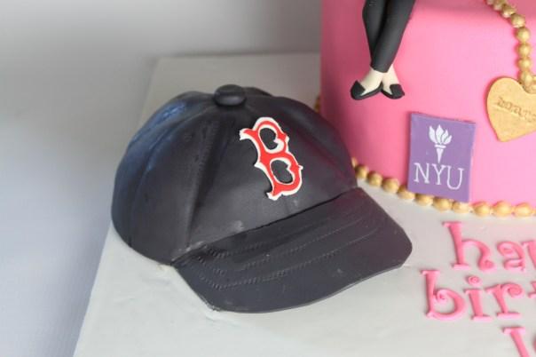 Mini Baseball Cap Cake