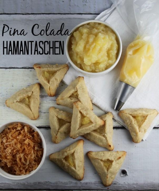 Pina Colada Hamantaschen