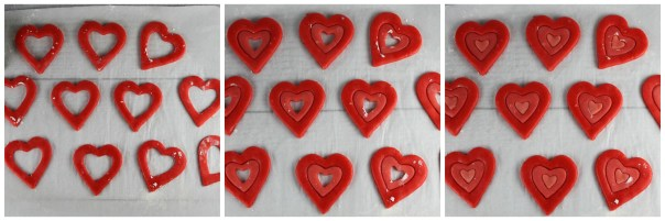 Ombre Heart Sugar Cookie Assembly