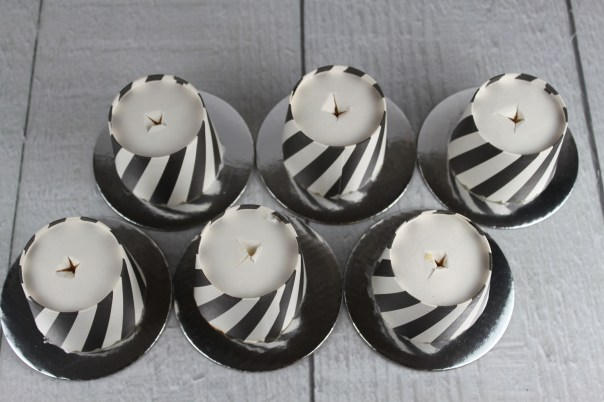 Cutting Holes In Cupcake Cup Bottoms