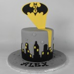 Simple Batman Cake