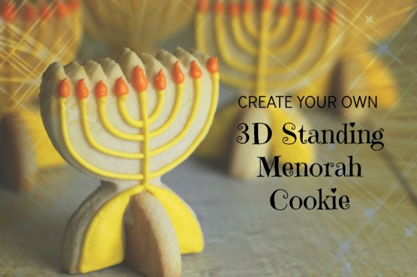 3D Menorah Cookie