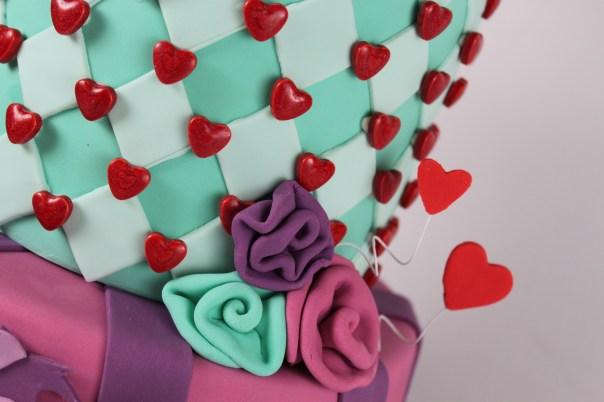 Harlequin Pattern Cake