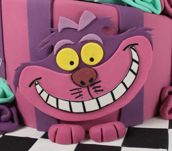 Fondant Cheshire Cat
