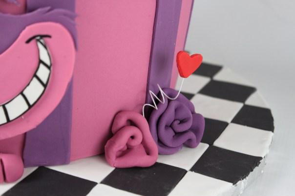Checkered Cake Board