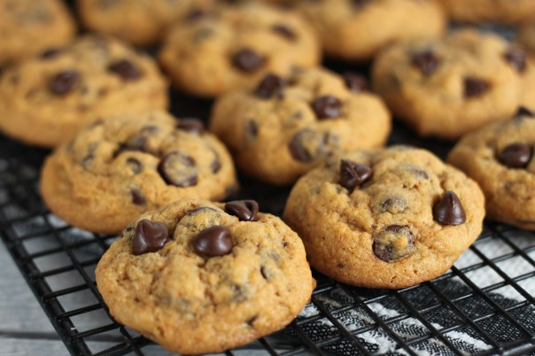 Pumpkin Spice Chocolate Chip Cookies Close Up   Lil Miss Cakes