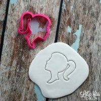 Silhouette Girl Cutter | Lil Miss Cakes