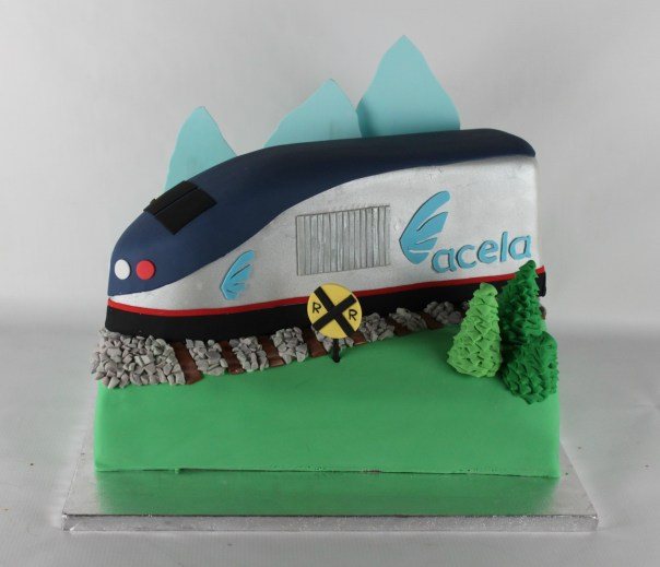 Acela Train Cake | Lil Miss Cakes