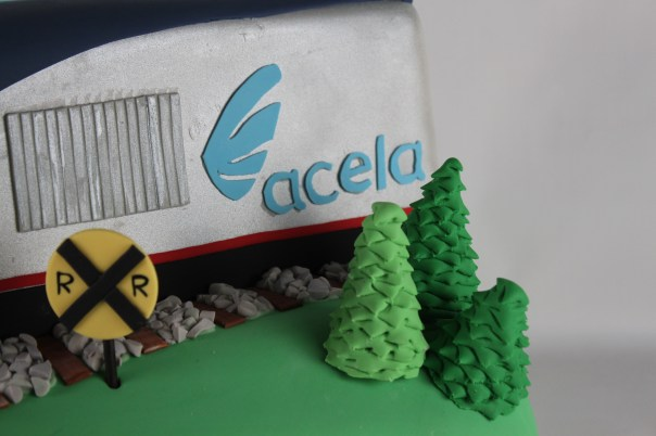 Acela Train Logo | Lil Miss Cakes