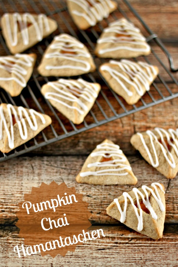 Pumpkin Chai Hamantaschen   Lil Miss Cakes