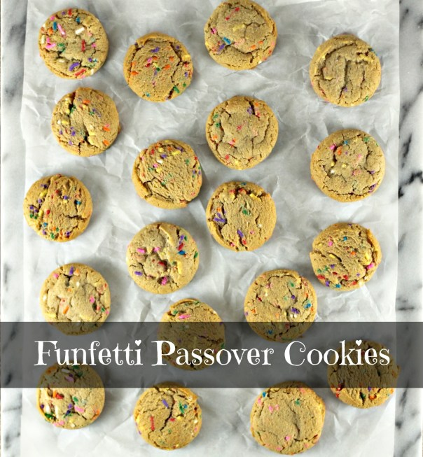 Funfetti Passover Cookies | Lil Miss Cakes
