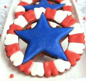 Lilaloa Badge Of Liberty Cookie