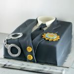 NYPD Uniform Cake | Lil Miss Cakes