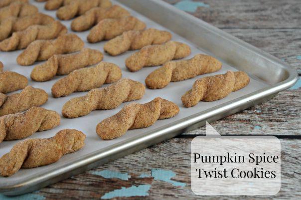 Pumpkin Spice Twist Cookies | Lil Miss Cakes