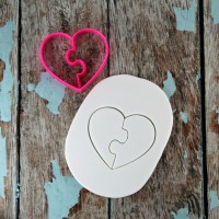 Heart Puzzle Cutter | Lil Miss Cakes