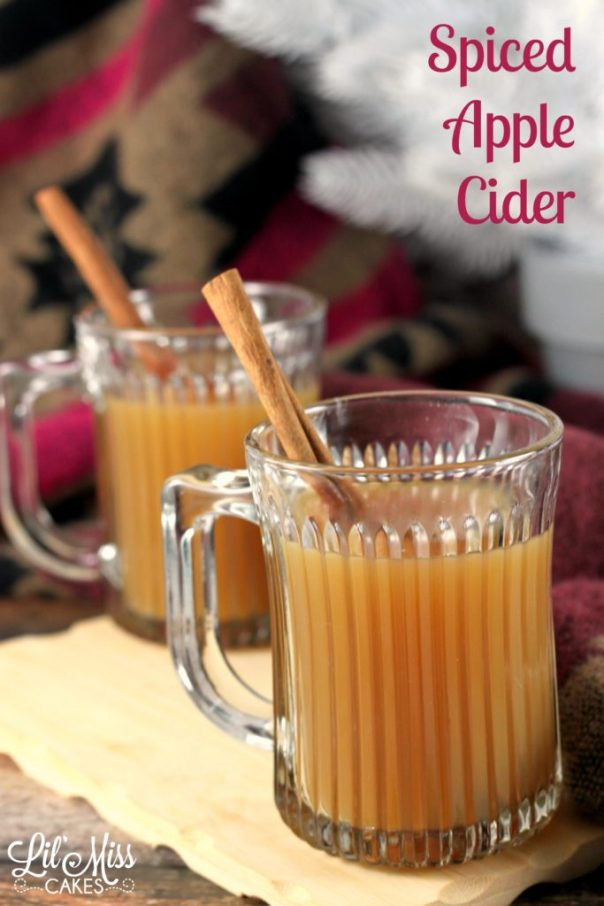 Spiced Apple Cider | Lil Miss Cakes