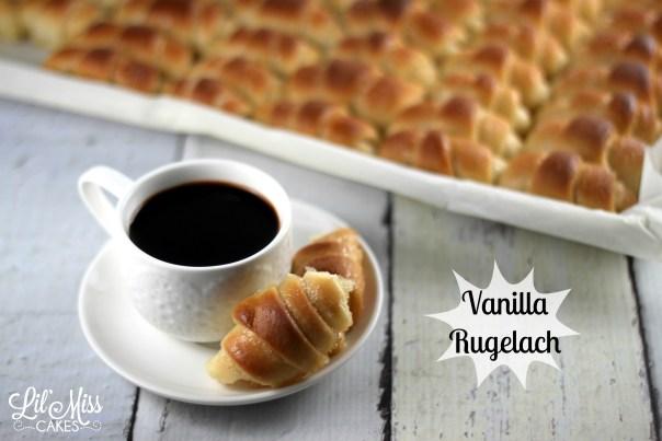 Vanilla Rugelach | Lil Miss Cakes