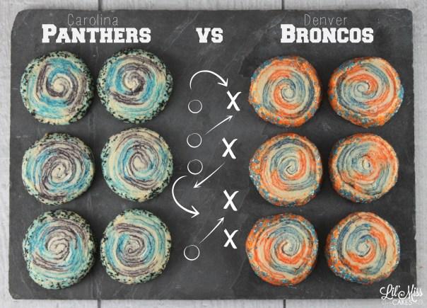 Super Bowl 50 Cookies | Lil Miss Cakes