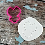Geo Heart Ring Pop Cutter | Lil Miss Cakes