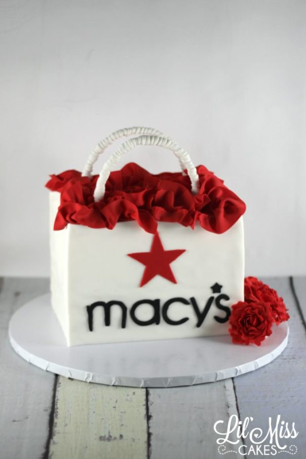 Macys Shopping Bag Cake | Lil Miss Cakes