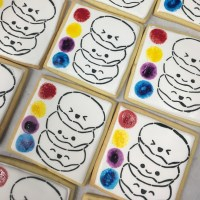 Donut Stack PYO Stencil | Lil Miss Cakes