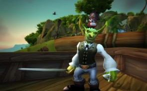 Pirate Pepe flew down south to visit his feathered friends. You'll find him there relaxing in some arrakoa ru-ins.