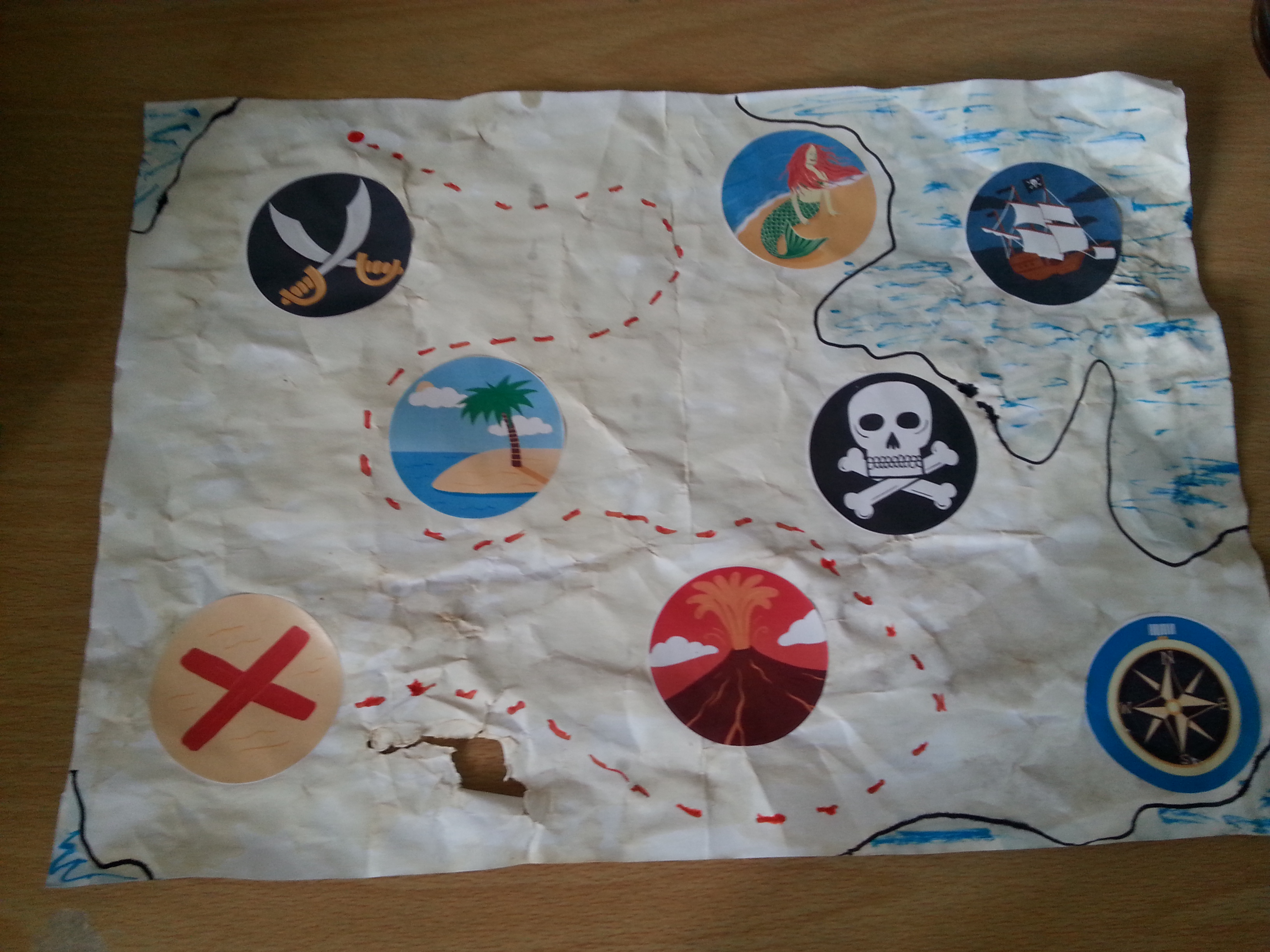 Treasure Map Craft Toucan Box