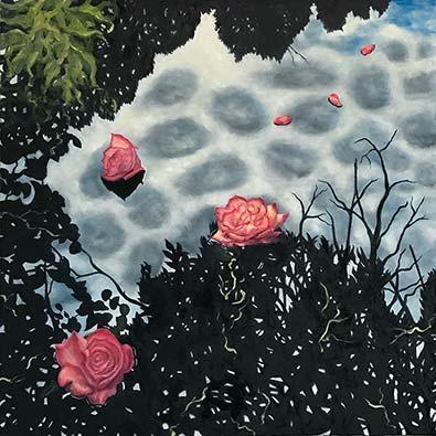 Rose Contrast - Lil Olive Art