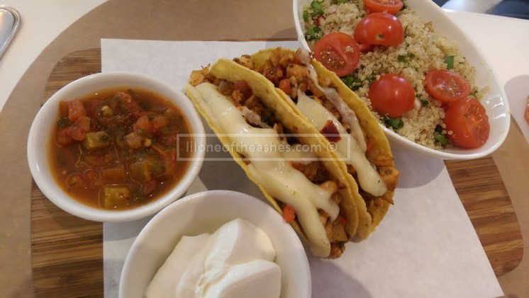Tacos, with Quinoa on the side