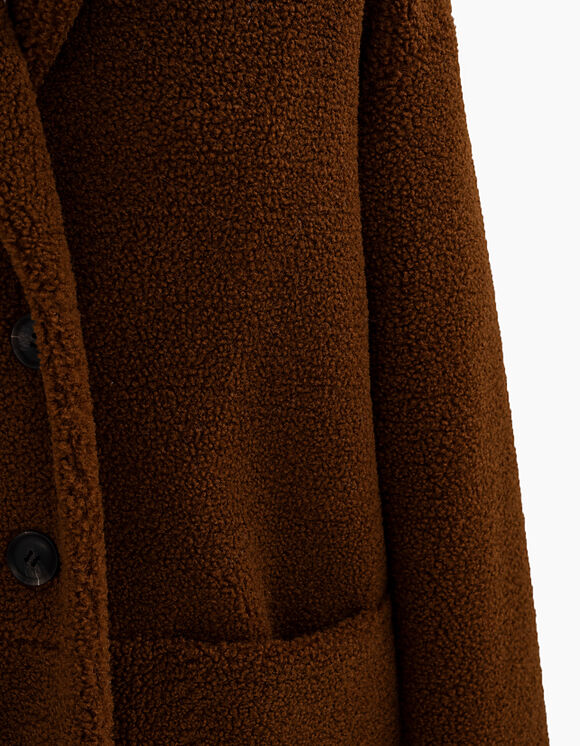IKKS-MANTEAU COGNAC EN FOURRURE SYNTHETIQUE I_CODE-QR44074-65_3