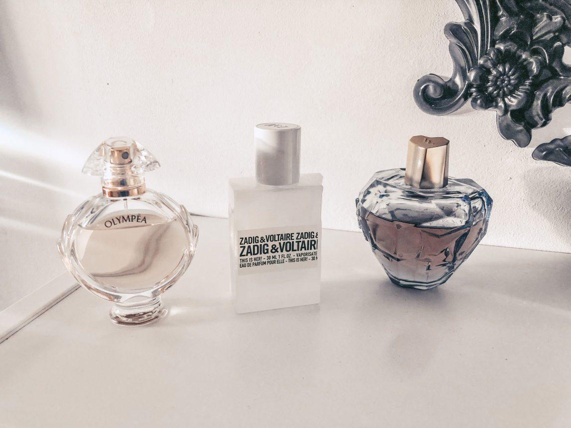 Ma collection de parfums