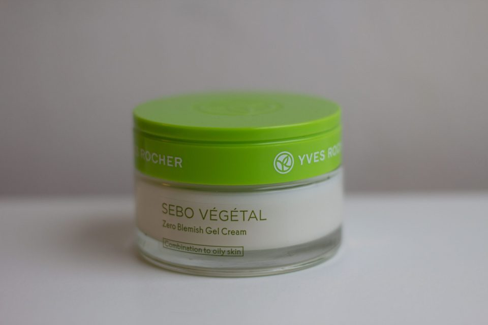 Gel crème de la gamme Sebo Végétal de chez Yves Rocher