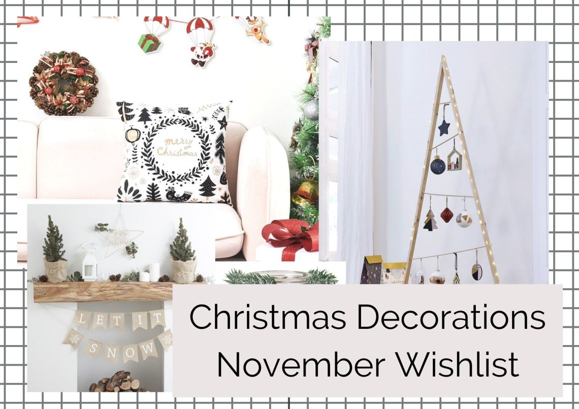 WISHLIST DE NOVEMBRE 2020 | CHRISTMAS DECORATIONS
