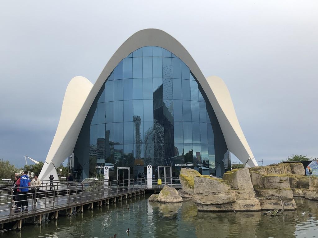 L'Oceanografic de la cité des arts et des sciences