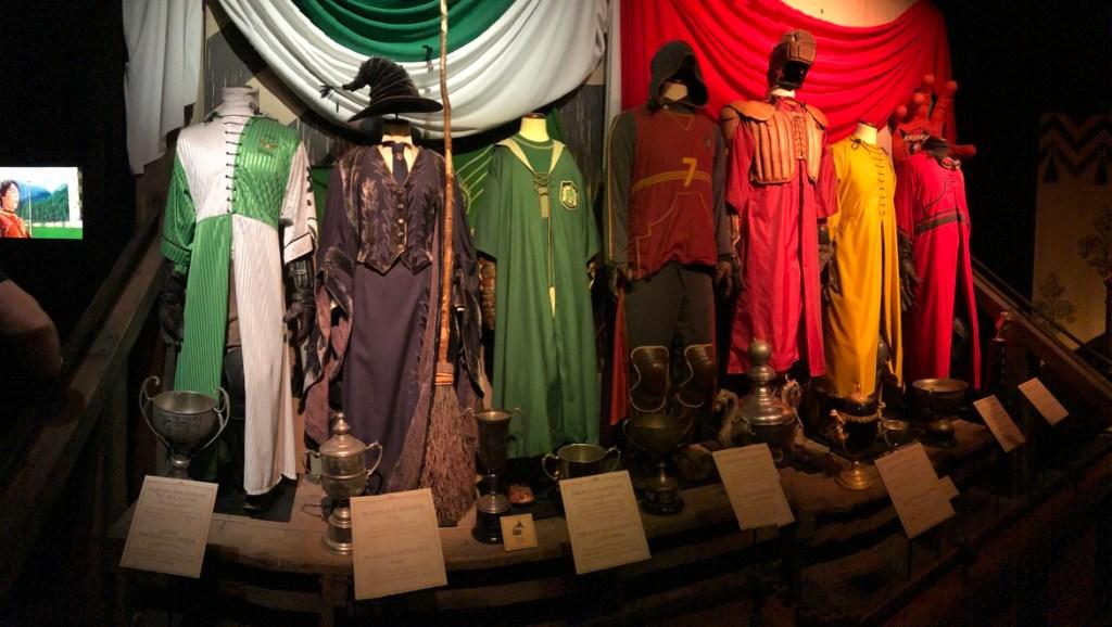 les vrais costumes de tournage des films Harry Potter