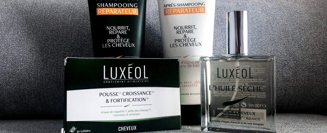 Luxéol : la routine capillaire pour cheveux secs et abîmés