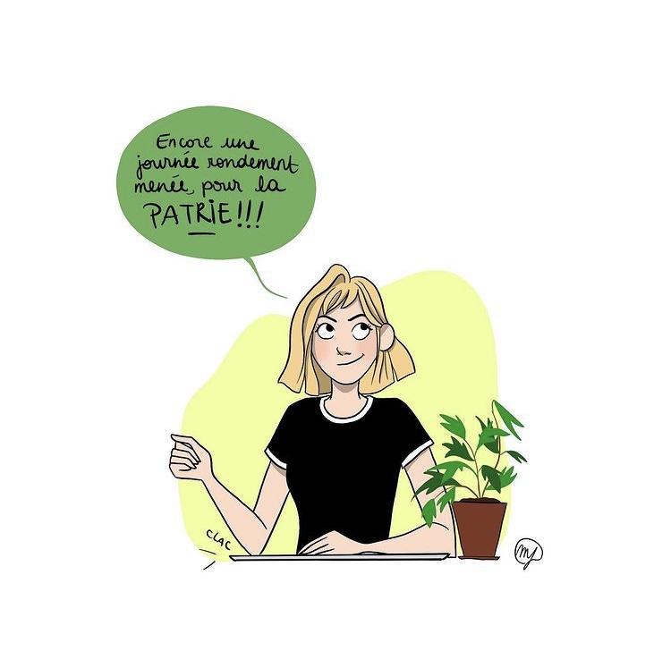 BD humoristique de Marine Lacroix