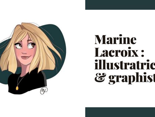Marine Lacroix illustratrice et graphiste sur Instagram