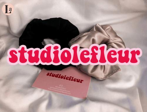 Studiolefleur la marque de chouchous en soie