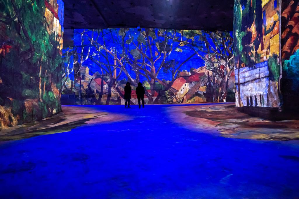 Carrières de Lumières aux Baux de Provence Paul Cezanne