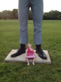Will I be as tall as you?