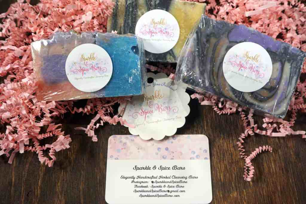 Sparkle and Spice Bars Soap Review -- I'm all for using natural products so I had to share this NEW natural soaps brand with you guys! -- lilsweetspiceadvice.com