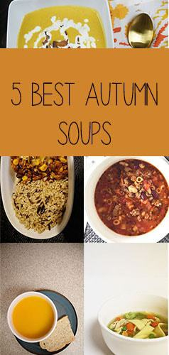 Recipe Round-Up: 5 Best Autumn Soups -- It's getting a little chilly outside so that calls for a round-up of the perfect fall soups. From pumpkin soup to chili these recipes will bring you some comfort this season. -- lilsweetspiceadvice.com