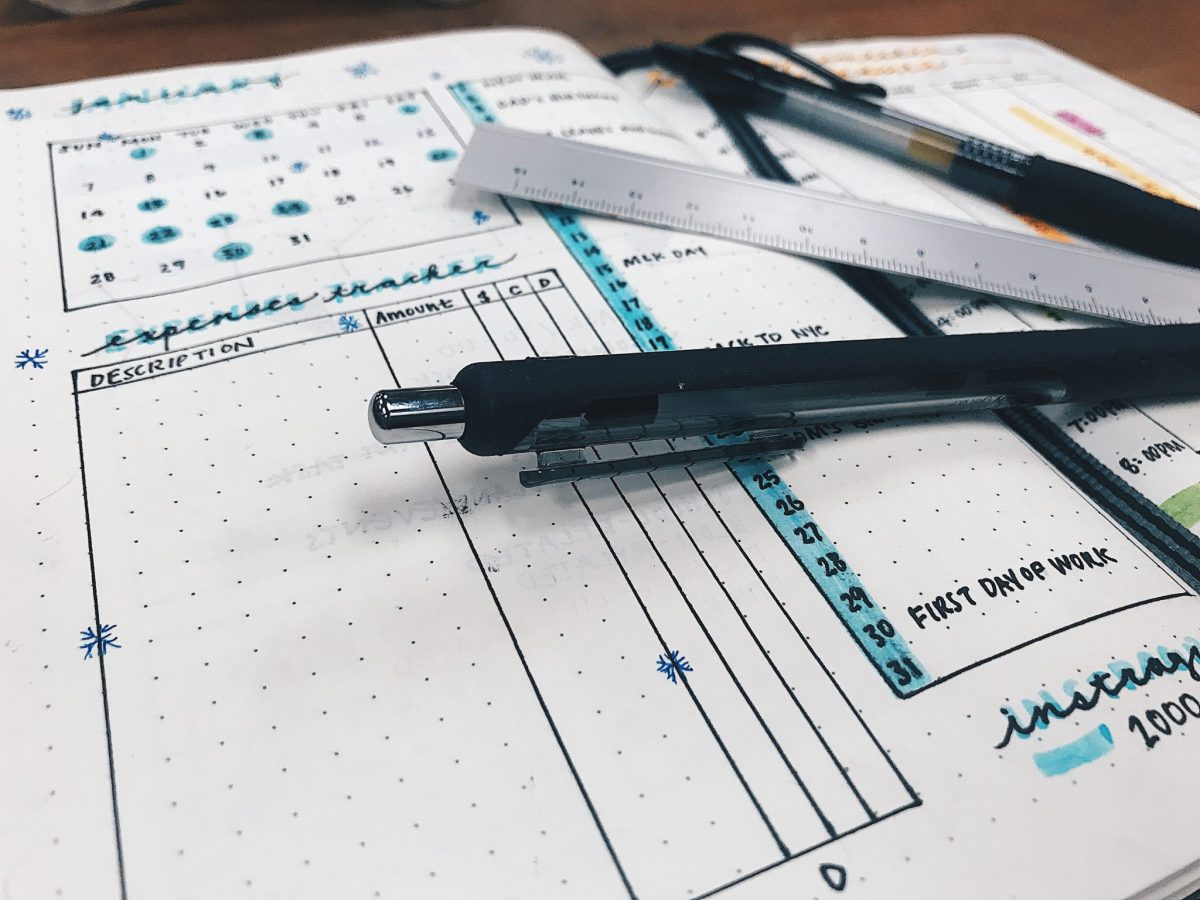 Bullet Journal Basics and An Overview of Mine