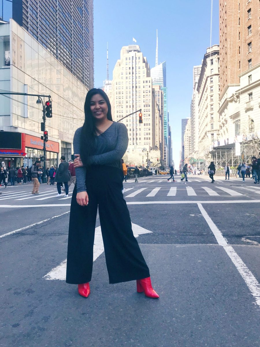 OOTD: Palazzo Pants + Red Boots