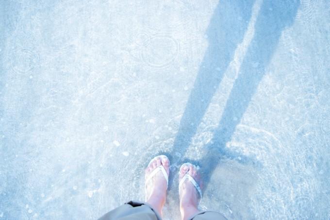 幸せの浜辺