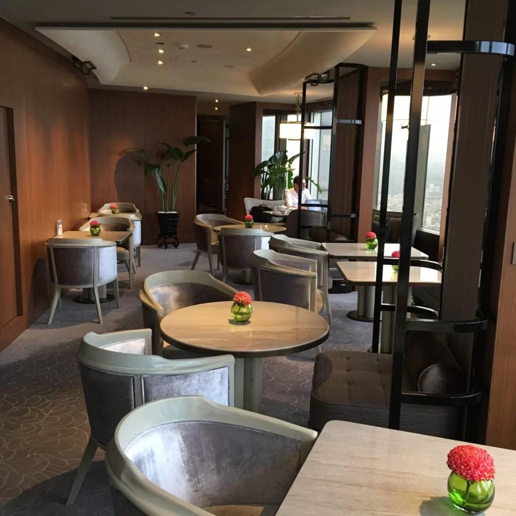 シャングリラホテル台北のホライゾンクラブラウンジ朝食01